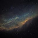 NGC1499 California Nebula HST palette,                                tomekfsx