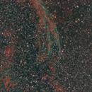 Part of Cygnus Loop - 5th panel taken (7 more to go),                                nazarine