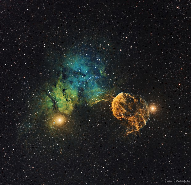 IC 443 - Jellyfish Nebula,                                Yovin Yahathugoda
