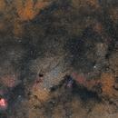 From Lagoon nebula to Eagle nebula,                                Fritz
