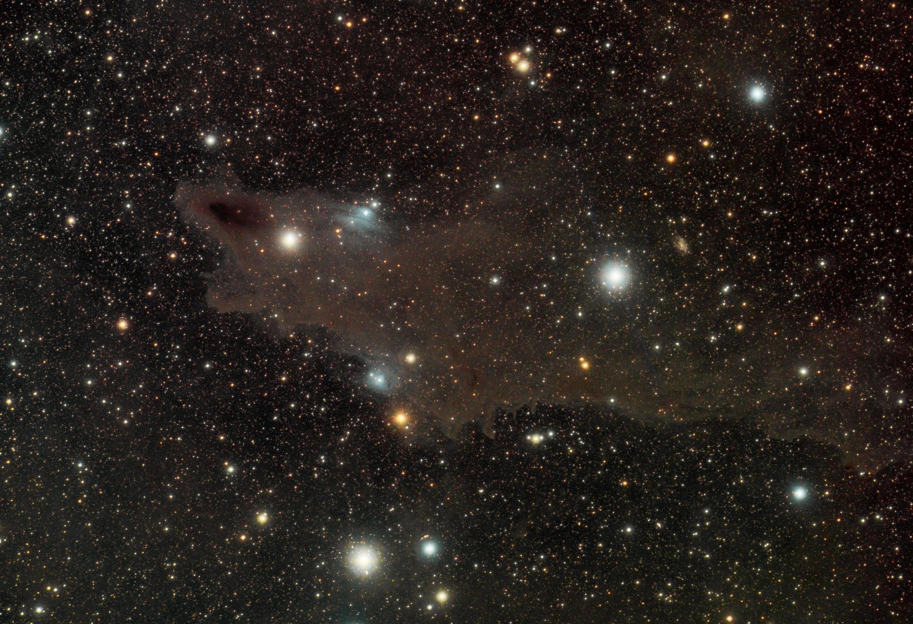 LDN1235 Shark Nebula/VDB149/VDB150,                                mikefulb