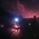Horsehead and Flame Nebula,                                Gabriel Dornier