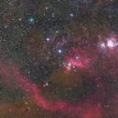 Orion Belt and C/2020 M3 (ATLAS),                                volleywang