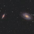 M81+M82 LRGBHa under Full Moon,                                pmneo