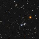 ARP 240 NGC 5257  NGC 5258 Colliding Galaxies,                                Jerry Macon