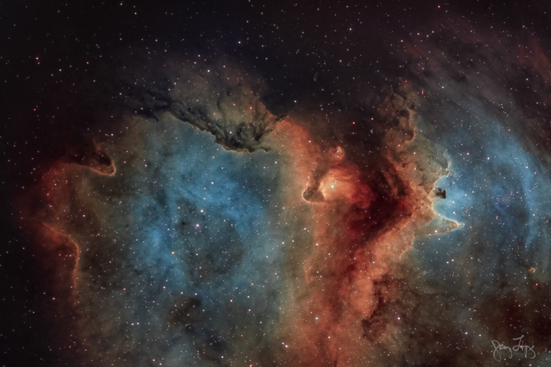 Rift in the Soul  (Sh2-199 and IC 1871 ),                                  Gary Lopez