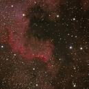 El Muro (NGC7000),                                Estefania Sanchez Martinez