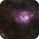 M8 - Lagoon nebula,                                Luc Germain