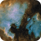 NGC 7000 and IC 5070 complex in HST palette,                                Maciej