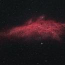 California Nebula - NGC 1499,                                Mateus
