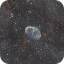 NGC6888 with a hint of Soap Bubble,                                freiform