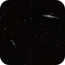 The Whale and Hockey Stick Galaxies (BRGB),                                Bill Worley