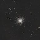 M13 Great Hercules Cluster,                                PghAstroDude