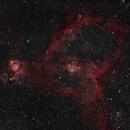 IC 1805_Heart Nebula_Narrowband,                                Jason Hansen