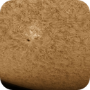 Sun Spot and Solar Flare Time-Lapse,                                  Chuck's Astrophot...
