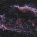 NGC 6960  (HOO_RVB),                                Pascal83