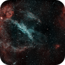 Lobster Claw and Bubble Nebulas - 3 Panel Mosaic,                                ManifestStephanie