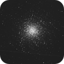 M13-Only just for fun 😉...without filters, darks ec....,                                Uwe Meiling