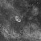 NGC6888 - Crescent Nebula (Ha),                                Richard Bratt