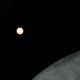 Lunar Occultation of Mars, end,                                Chris W