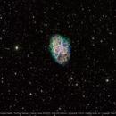 M1 - Crab Nebula in The Hubble Palette,                                  Michael Feigenbaum