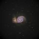 M-51 Whirlpool Galaxy,                                BramMeijer