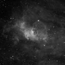 NGC7635 in Halpha light,                                Mauro Narduzzi