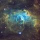 NGC 7635 Bubble Nebula in the Hubble Palette,                                  Douglas J Struble