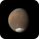 Mars with a high altitude cloud,                                Chappel Astro