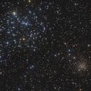 Messier 35 & NGC 2158,                                Markus Blauensteiner