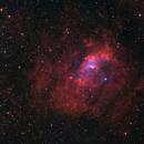 NGC 7635: Bubble Nebula in H-SO-O,                    Chris Sullivan