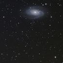M81 M82  NGC 3077- ED80 - 500D,                                Laurent