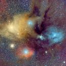 Antares, M4 and Rho Ophiuchi,                                Alessandro Cavallaro