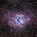 Lagoon Nebula,                                Alan Pham