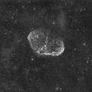 The Crescent Nebula in Hydrogen Alpha Light,                                Alex Roberts
