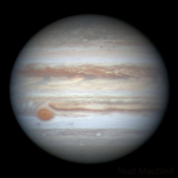 Jupiter up close,                                Niall MacNeill
