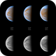 5 days from cloudy Venus life (21-25.03)  ->  clear UV channel added,                                Łukasz Sujka