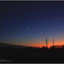 Moon, Saturn, Venus and Jupiter, 20191201,                                Geert Vandenbulcke