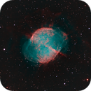 M27 - The Dumbbell (HOO-LRGB),                                Michael J. Mangieri