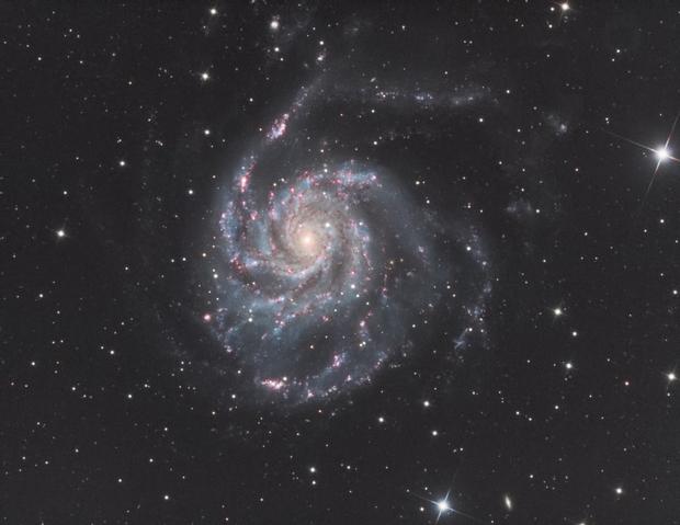 M101 Pinwheel Galaxy,                    wannaberocker_x