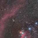 LDN 1622 (Boogie Man) & M78 & Flame & horse head nebula,                                  Marcus Wögerer