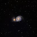 M-51 The Whirlpool Galaxy (HaLRGB),                                Earl Hebert