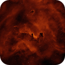 Dark Nebulae Sandqvist 111,112 in Vela,                                John Ebersole