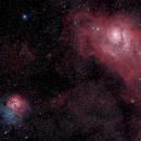 Trifid (M20) and Lagoon (M8),                                Sergio G. S.