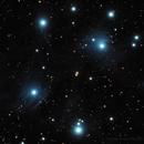 Messier 45 - The Pleiades,                                Gustavo Sánchez