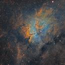 NGC 6820 & NGC 6823 - SHO,                                  Jean-Baptiste Auroux
