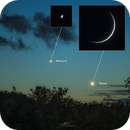 Mercury and Venus, May 23, 2020,                                Sebastian Voltmer