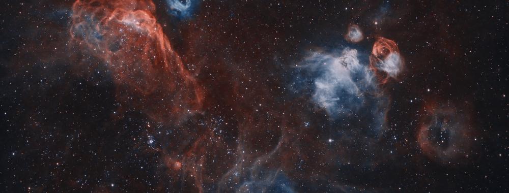 NGC2020 and extragalactic nebulae,                                Juan Filas