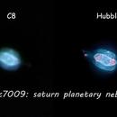 ngc 7009 (Saturn planetary nebula),                                  *philippe Gilberton