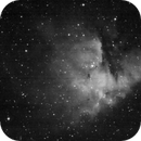 NGC 281 - Nebulosa Pac-Man (H-Alpha),                                Luis Martinez